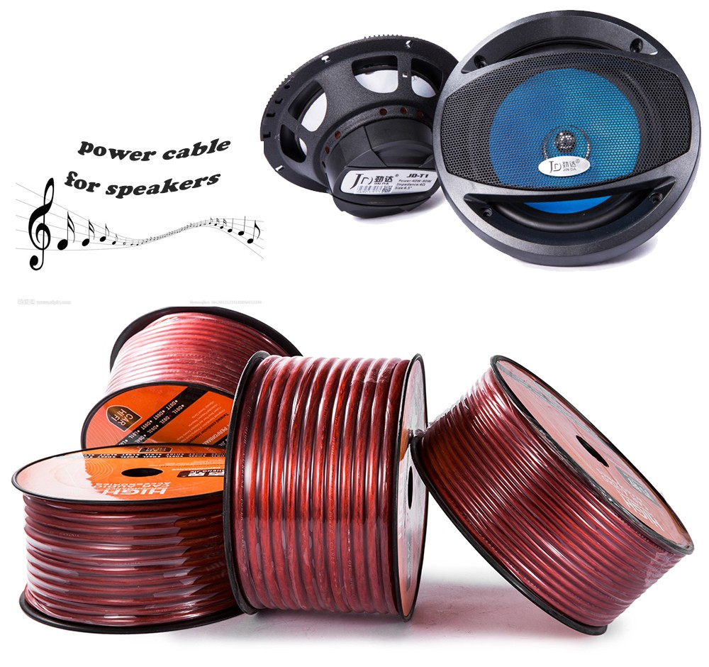 6mm Core Copper Clad Aluminum Wire Power Speaker Cable Buy To Wiring