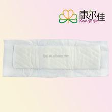 Feminine Maternity Pad regular cotton surface made in china