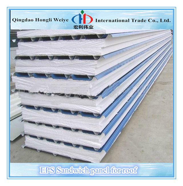 Eps Foam Roof Panels : Roofing eps sandwich panel foam buy