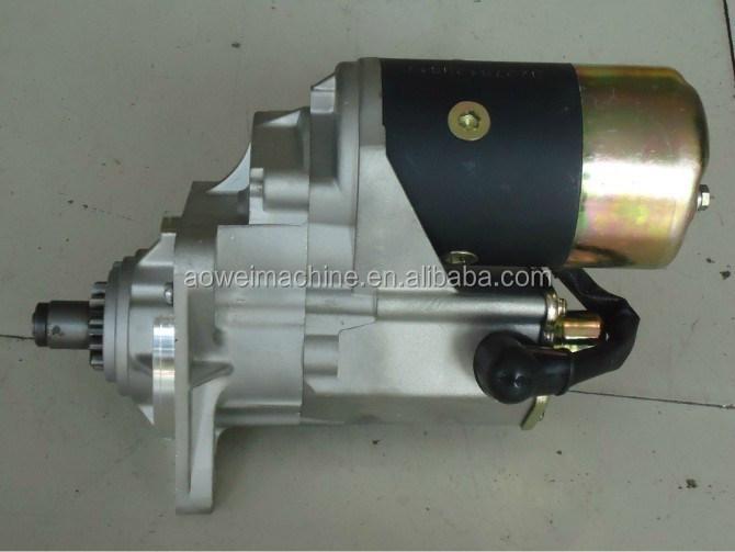 HITACHI ISUZU 4HK1 ZAXIS200-3 ZAXIS200LC-3 ZAXIS230 Starter Motor,JOHN DEERE 190D W, 220D W,CASE ...