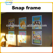 Wholesale A4 A3 A2 A1 PVC plastic certificate picture poster frame