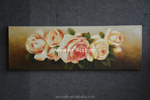 Magic Rose oil painting by hand on Canvas
