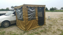 Popular high quality china waterproof outdoor camping room/multi-awning room