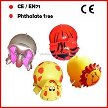 8inch size mini inflatable animal ball,animal shape beach ball