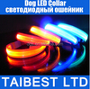 Wholesale Flashing Lighting Dog LED Collar Safety GlowLED Pet Cat Necklace Up XS / S / M / L / XL