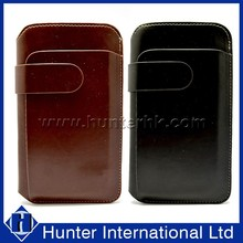 Two Slot PU Leather Sleeve Bag For Samsung Note2