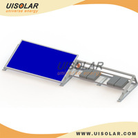 Flat Roof or Open Field solar panel mounting system , 10KW solar panel mounting brackets