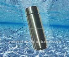 Hydrogen best water filter bottle,activited carbon sport water filter bottles(two filters)