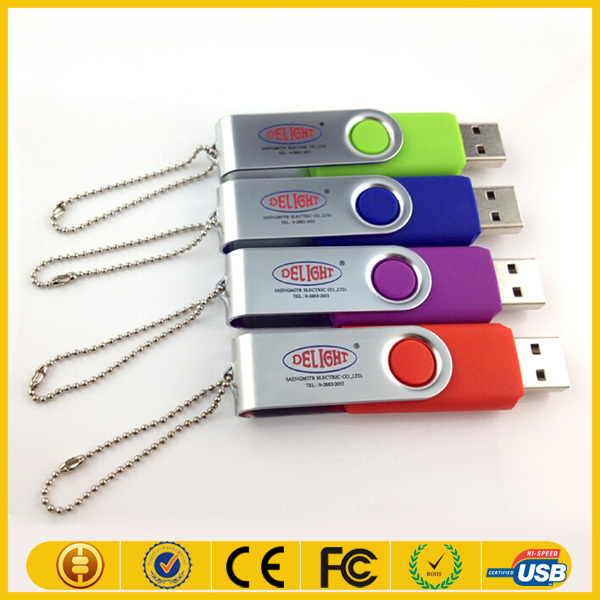 technogy giveaways swivel metal usb flash drive wholesale China with string from express alibaba
