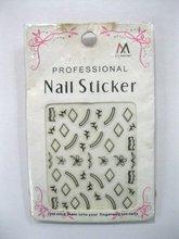 new&hot design selling nail art/nail sticker