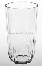 CLEAR DRINKING HIGH BALL GLASS BEVERAGE GLASS TUMBLER