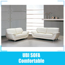 Hot sell hotel design leather sofa sets