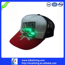 produce funny led snapback cap and hat for kid