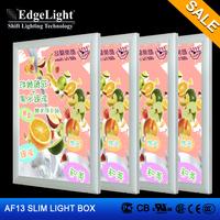 Edgelight Advertisement Crystal Light Box Acrylic Sheet Poster Frame LED Light Board