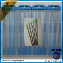 WP pure wolfram welding rods for aluminum and Al-Mg alloy welding