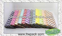 origen de la decoración de colores de papel de paja