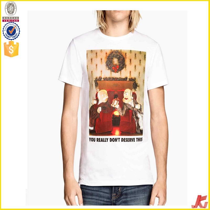 Cotton Printing Dri Fit Polyester Cheapest Men T Shirt Men