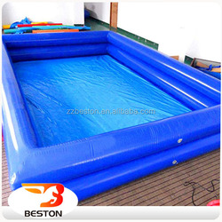 Low investment high return amusement inflatable swimming pool cover