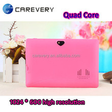 """7 inch quad core cheap tablet external 3G, best smart android 4.4 pc tablets 7"""" price China"""