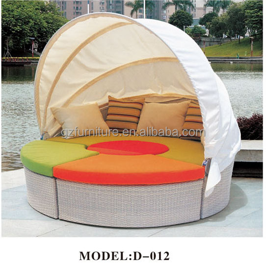 outdoor patio cabana daybed 3