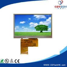 Small size 4.3 inch very small tft lcd display panels