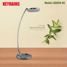 Metal touch dimmer art glass table lamps