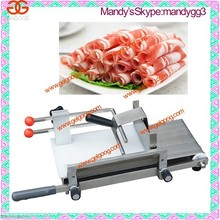Popular Catering Equipment Beef/Mutton Roll Slicing Machine|Meat Roll Cutter Price|Frozen Meat Cutting Machine