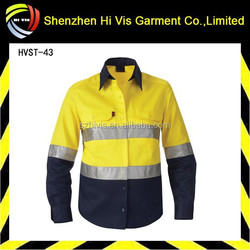 cheap wholesale men long sleeve with 3m reflective tape