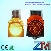 Red yellow slow charactor LED traffic solar traffic flash flare