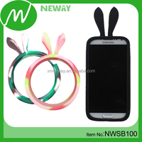 Wholesale Ring Design Silicone Cell Phone Case