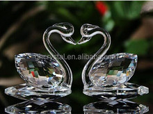 Wedding Crystal Gift or Home Decorations Exquisite Crystal Swan