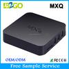 Andoroid tv box 1GB/8GB MXQ AMLogic S805 Quad Core best android tv box skybox f5 iptv set top box