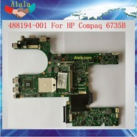 AMD Mainboard For HP Compaq 6735B Laptop Motherboard 488194-001 Tested OK