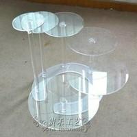 high quality Acrylic Cake display rack, modern acrylic cake display