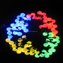 17mm 5W 5M home accents holiday led lights/holiday creations led christmas lights/color changing led holiday light