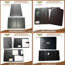 A4/A5/A6 interview padfolio with writing pad for city bank