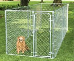 Large outdoor dog crate, dog fence, dog running fence large dog kennels