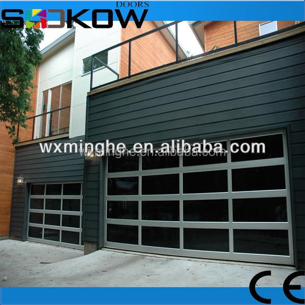 geh rtetem glas garagen sektionaltor aluminium garagentor. Black Bedroom Furniture Sets. Home Design Ideas
