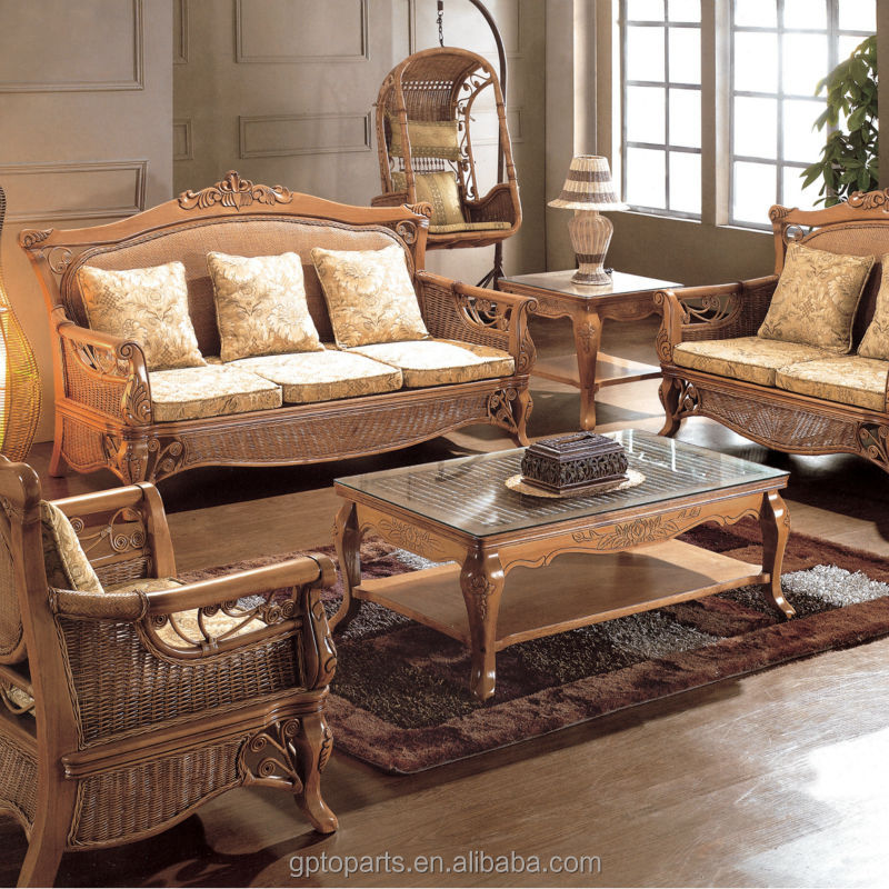 Wholesale living room sets living room furniture rattan for Rattan living room furniture