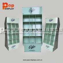 2015 innovation design cardboard promotional display shelf