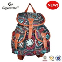 2015 fashion new designoil cloth cavas lady laptop bag laptop bag for lady