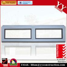 de alta calidad de aluminio de la ventana de estilo fijo
