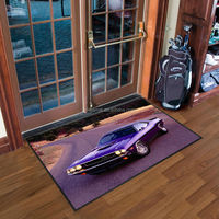 Sublimation garage anti-slip floor mat