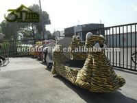 kids electric train/amusement park equipment/battery operated train