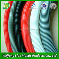 widly used all colors corrugated PVC sewer pipe for irrigation