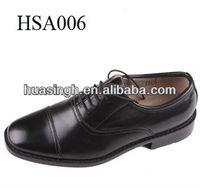 Italian latest design black mens formal style genuine leather dress shoes