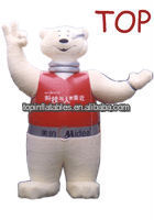 2013 NEW Hot-Selling inflatable bear cartoon,inflatable mascot