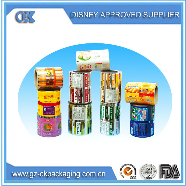 2015 alibaba low price professional food packaging Film Roll,industrial film roll