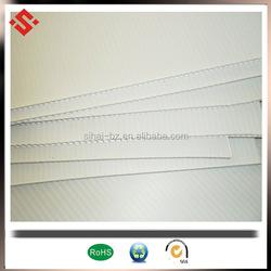 4'x8' coroplast sheet 3mm white corflute sign board