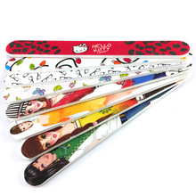 2015 High Quality Printed Cartoon Wooden Nail File